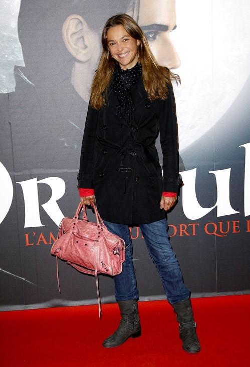 Sandrine Quétier à la générale de Dracula