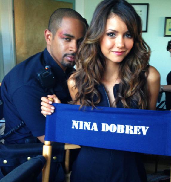 Nina Dobrev : elle s'éclate sur le tournage de Let's Be Cops !