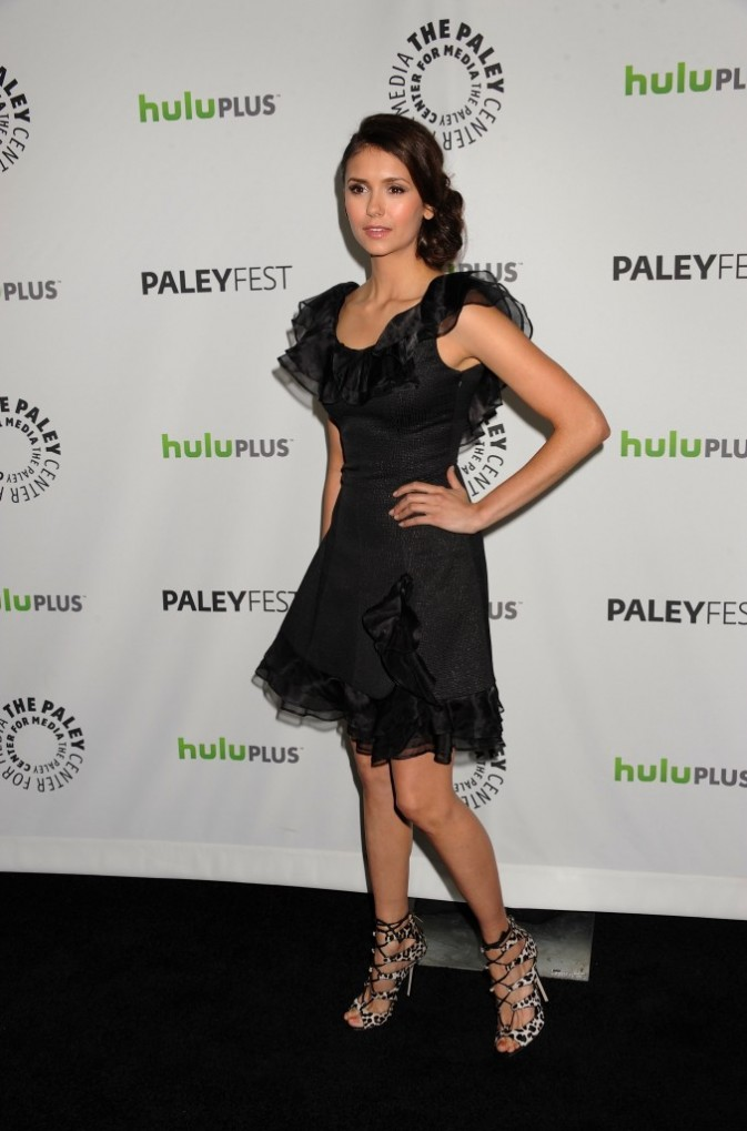 Nina Dobrev à Beverly Hills, le 10 mars 2012.