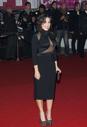 Maude à Cannes le 14 décembre 2013