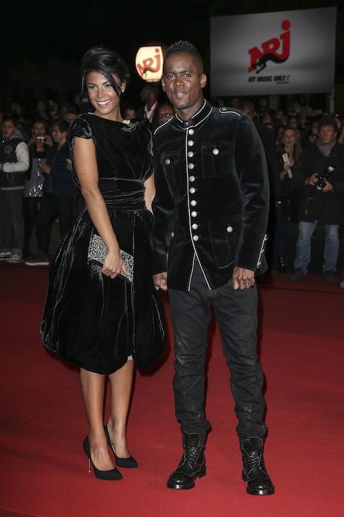 Black M et sa femme, Lia, aux NMA 2014 !