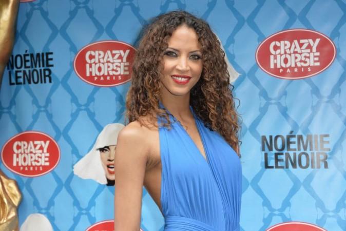 Noémie Lenoir lors de sa première au Crazy Horse, le 2 juin 2013 à Paris
