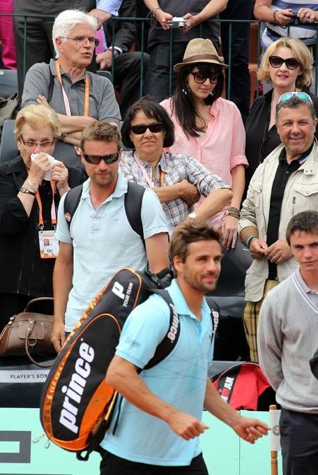 Nolwenn Leroy à Roland-Garros le 31 mai 2012