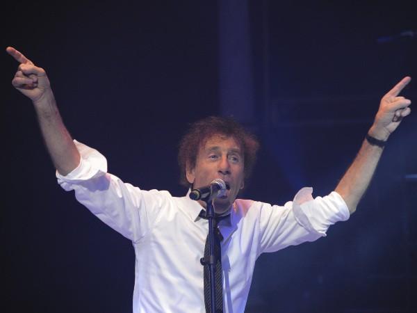 Alain Souchon lors du gala de la Fondation pour la recherche sur Alzheimer au Cirque d'Hiver à Paris, le 25 septembre 2013.