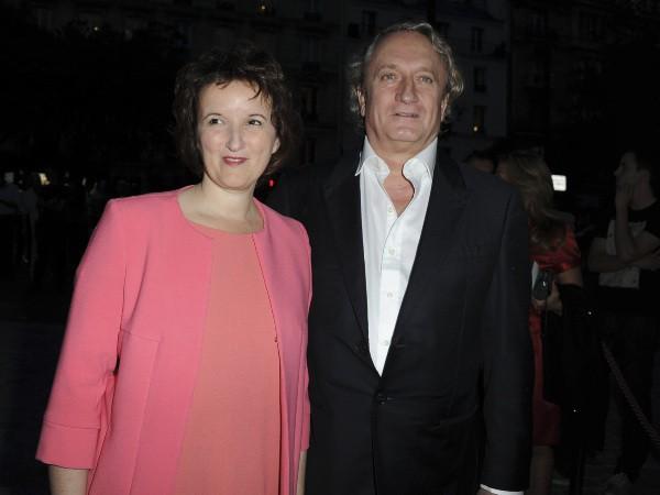 Anne Roumanoff lors du gala de la Fondation pour la recherche sur Alzheimer au Cirque d'Hiver à Paris, le 25 septembre 2013.