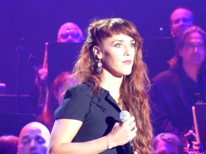 ZAZ lors du concert en hommage à Edith Piaf à New-York le 19 septembre 2013