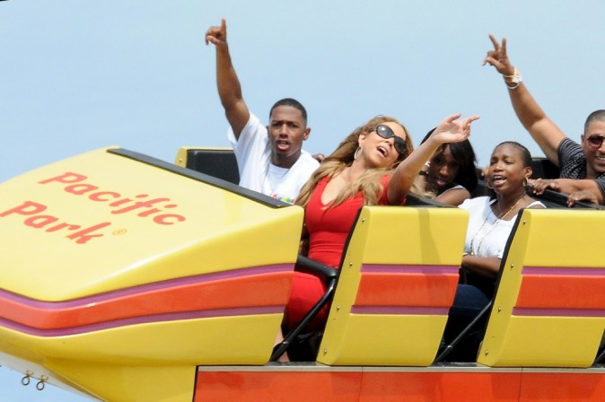 Mariah Carey : les mains en l'air !