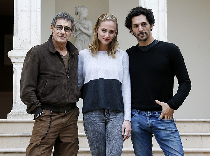 Gérard Lanvin, Nora Arnezeder et Tomer Sisley à Sarlat le 12 novembre 2013