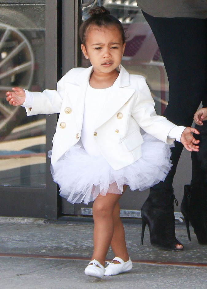 North West à la danse