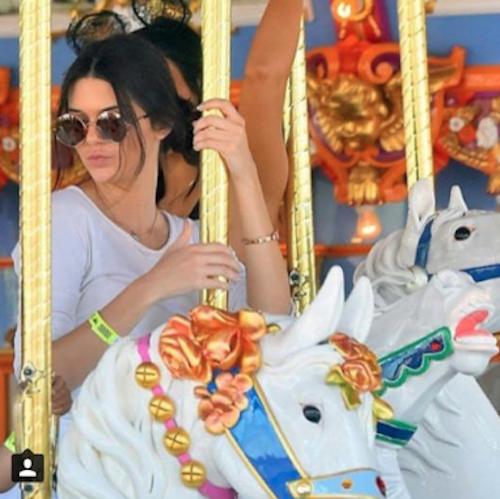 Kendall Jenner à l'anniversaire de North West à Disney, le 15 juin 2015