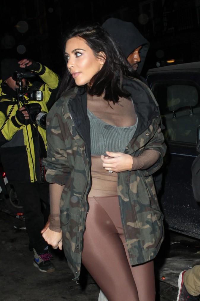 Kim Kardashian le 12 février 2015