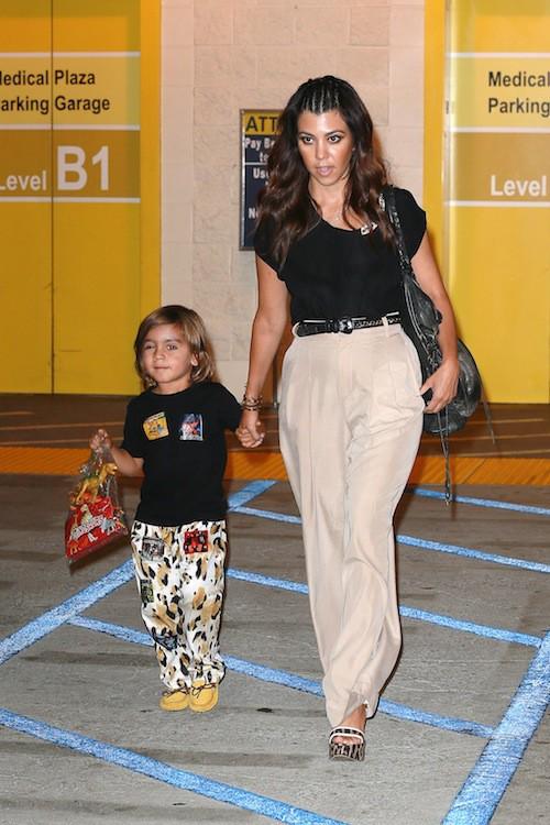 Kourtney Kardashian et Mason