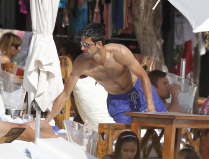 Novak Djokovic à Ibiza le 9 juin 2014