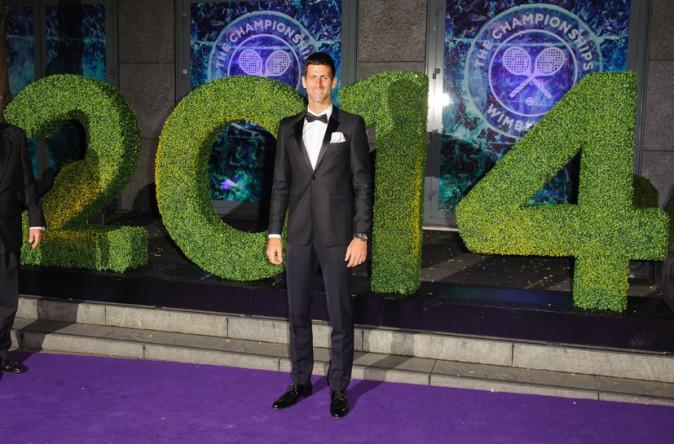 Novak Djokovic remporte le tournoi de Wimbledon le 6 juillet 2014
