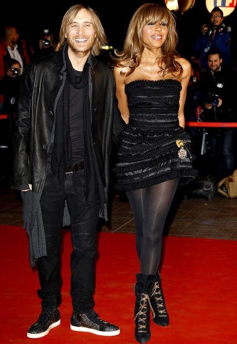 David et Cathy Guetta