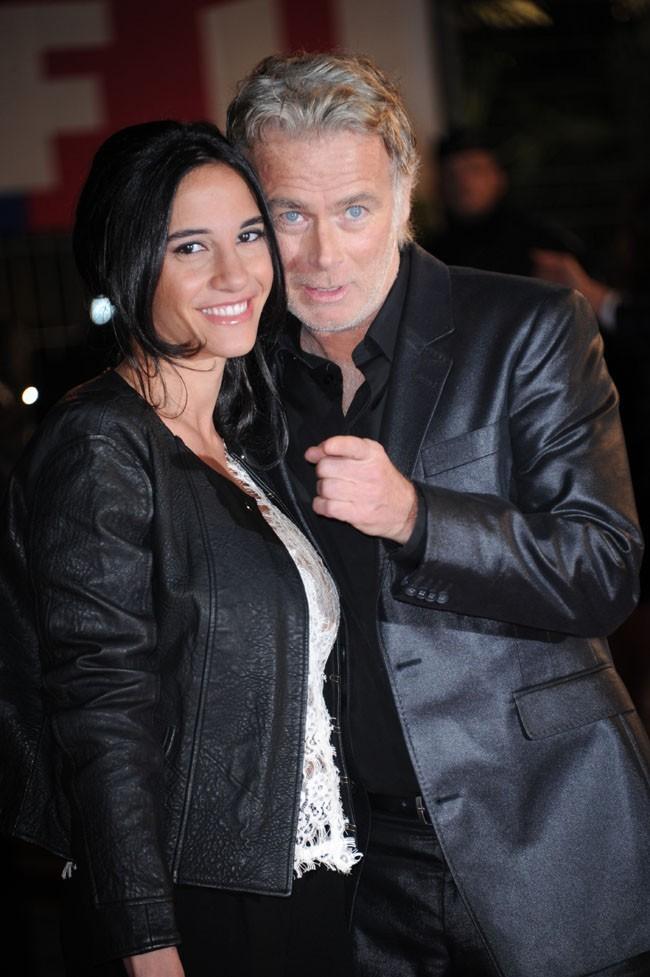 Franck Dubosc et sa femme aux NRJ Music Awards 2013 le 26 janvier 2013 à Cannes