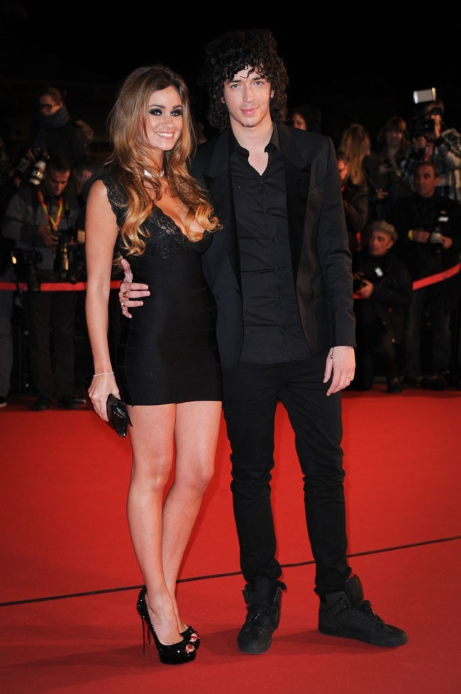 Julian Peretta et sa girlfriend aux NRJ Music Awards 2013 le 26 janvier 2013 à Cannes