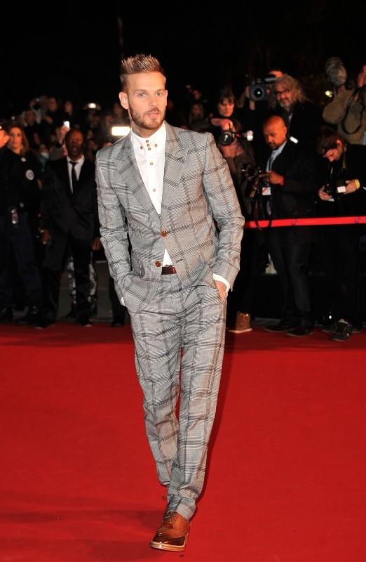 Matt Pokora le 26 janvier 2013 à Cannes