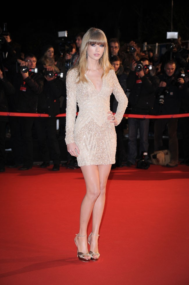 Taylor Swift le 26 janvier 2013 à Cannes