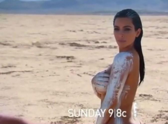 Nue dans le désert, Kim Kardashian fait encore grimper la température !