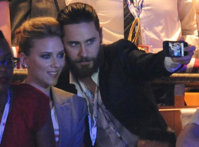 Photos : Scarlett Johansson et Jared Leto étaient ensemble à la National Democratic Convention en septembre