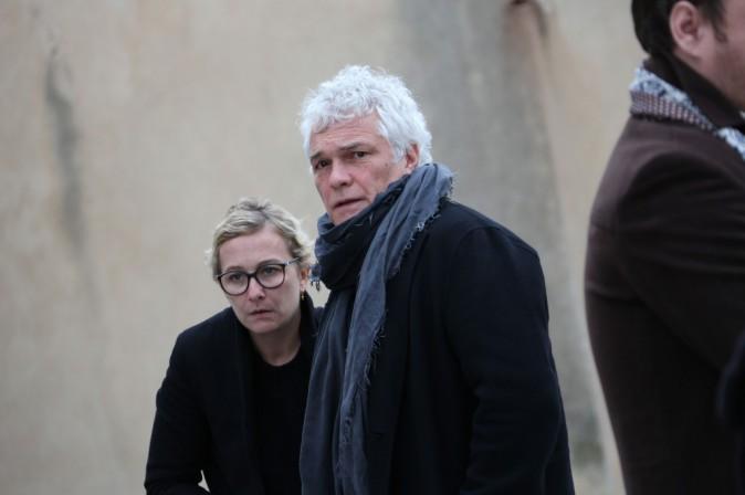 Photos : Obsèques de Framboisier : un dernier adieu au Musclé, Rémy Sarrazin épaule la famille endeuillée...