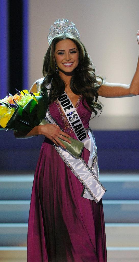 Olivia Culpo décroche le titre de Miss Rhode Island en 2012