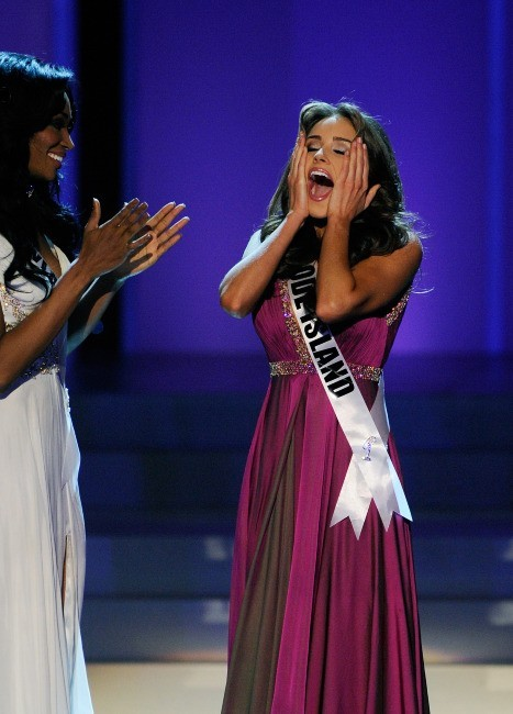 Olivia Culpo lors de son sacre en tant que Miss USA 2012, le 3 juin 2012 à Las Vegas.