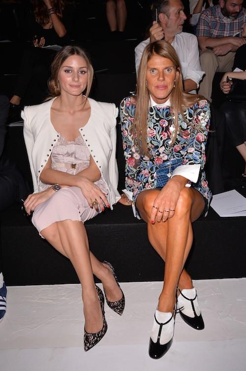 Photos : Olivia Palermo : dragée sucrée au défilé Nina Ricci !