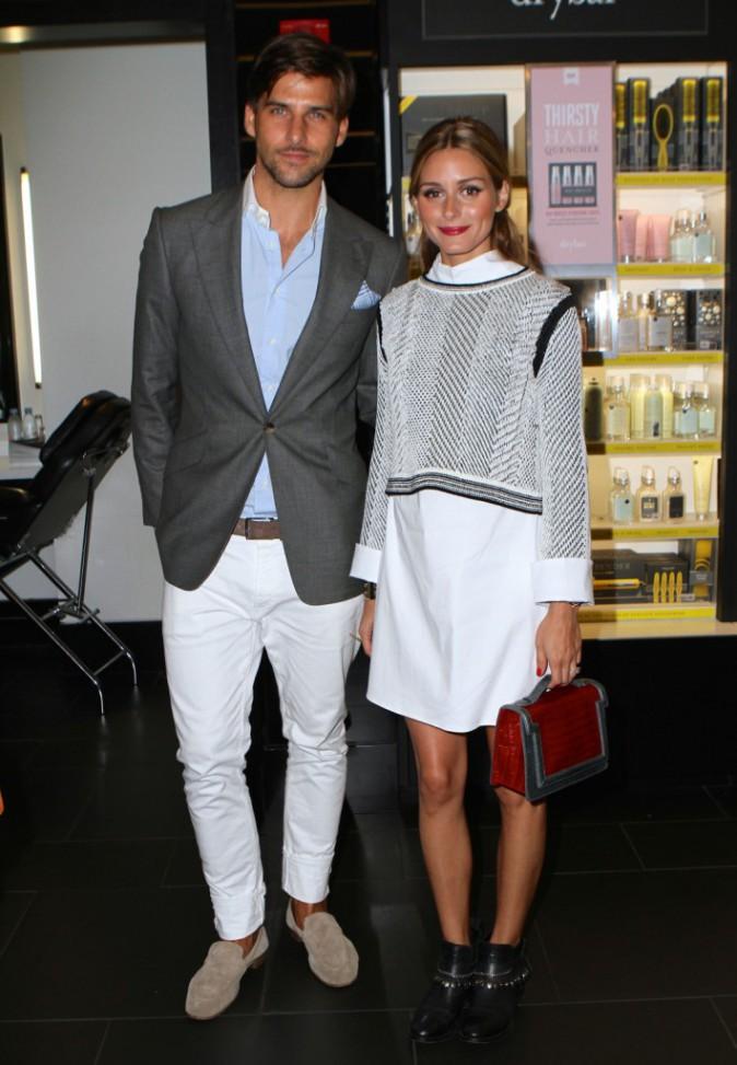 Olivia Palermo et son mari