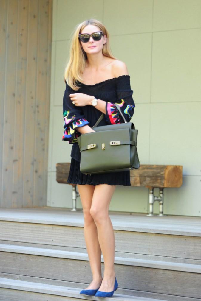 Olivia Palermo à New York le 8 août 2015