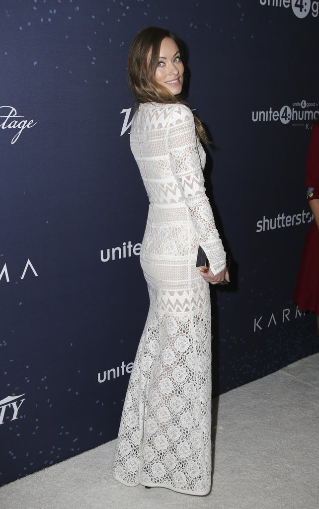Photos : Olivia Wilde, Camilla Alves : beautés monochromes au gala Unite4:Humanity !