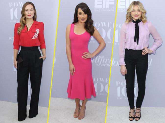 Photos : Olivia Wilde, Lea Michele, Chloë Moretz… Des femmes puissantes !