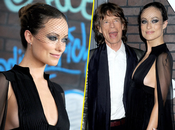 Olivia Wilde sublime en compagnie de Mick Jagger