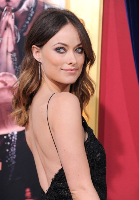 Olivia Wilde, en Gucci à la première de The Incredible Burt Wanderstone