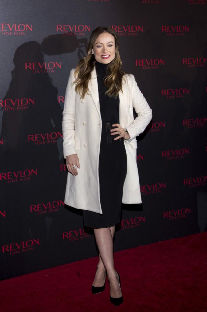 Olivia Wilde à New York le 18 novembre 2014
