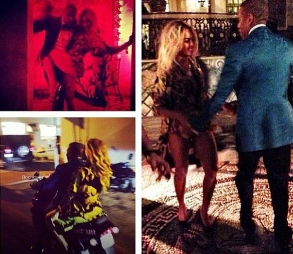 Beyoncé et Jay-Z !
