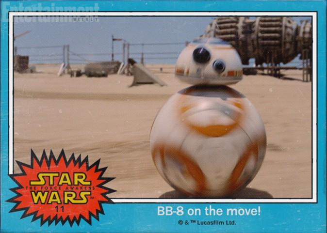 Le petit robot s'appelle BB-8