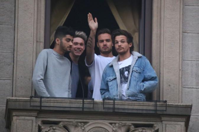 Les One Direction à Milan le 12 décembre 2013