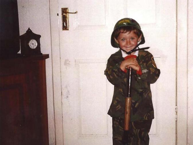 Niall Horan enfant !