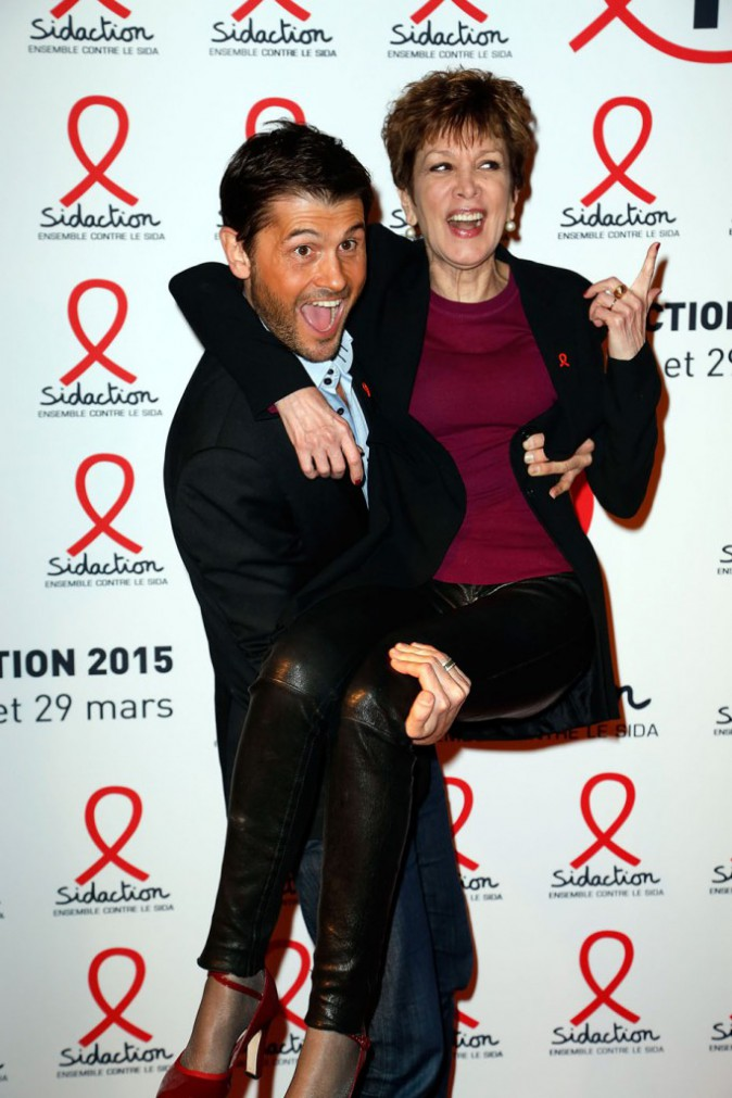 Catherine Laborde et Christophe Beaugrand