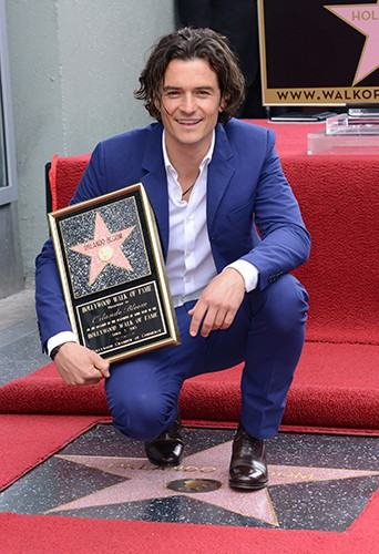 Orlando Bloom à Los Angeles le 2 avril 2014