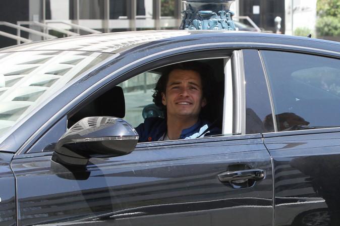 Photos : Orlando Bloom : arrêté par la police après avoir grillé un stop !
