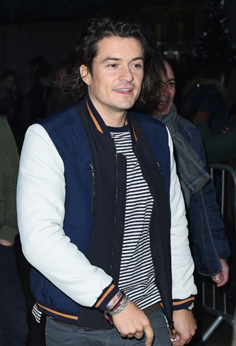 Photos : Orlando Bloom : crinière au vent, il enchaîne la promo de The Hobbit !