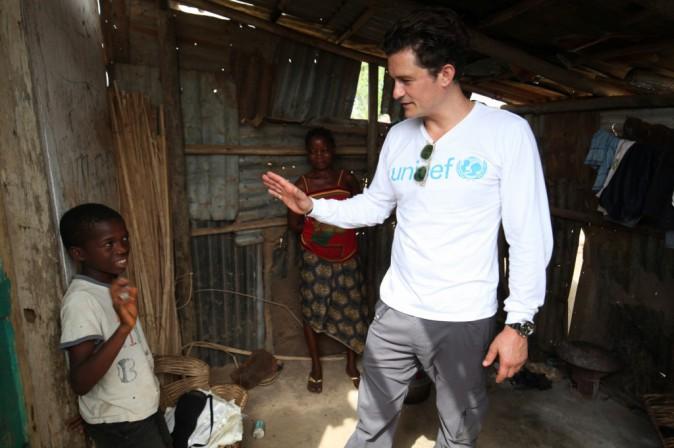 Photos : Orlando Bloom : un ambassadeur courageux !