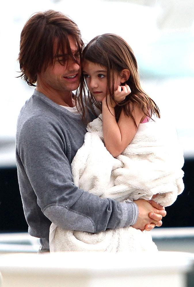 Tom Cruise et sa Suri !