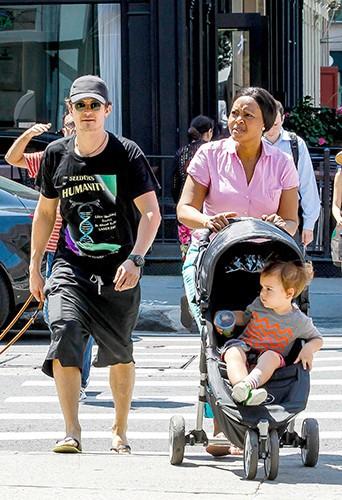 Orlando Bloom à New-York le 16 juillet 2013