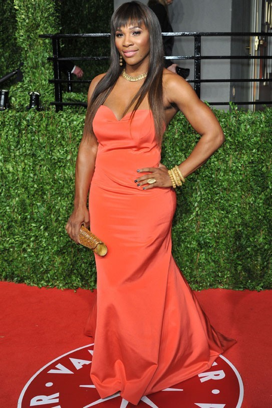 Serena Williams côté face ...