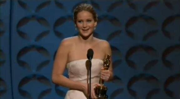 Jennifer Lawrence, Oscar de la meilleure actrice