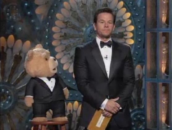 Mark Wahlberg et TED